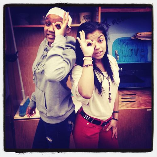 Me & my Lil Siss be Thuggin