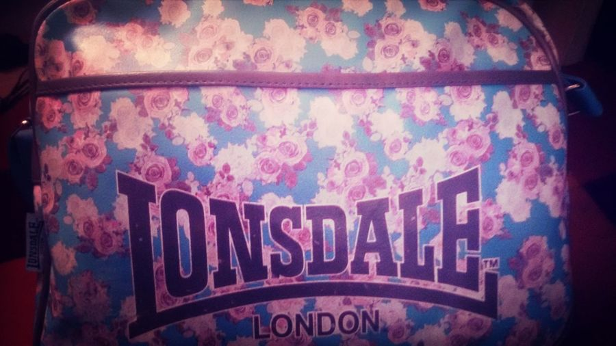 Bag Lonsdale Floral Blue