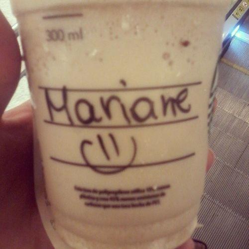 Nunca acertam o meu nome. Idonotcare Starbucks Loveit Coffe