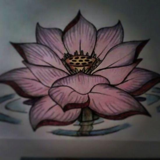 Loto Tattoo Lotoflower Draw
