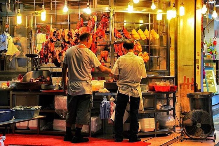 Street Light Nigntmarket Shamshuipo HongKong