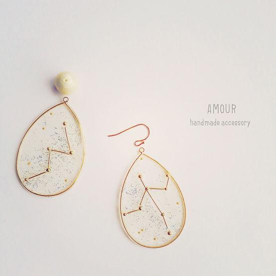 明日 イベント。ドキドキ ワクワク。 New Earrings Accessories Pearls Hand Made Handmade Jewellery Stars Galaxy