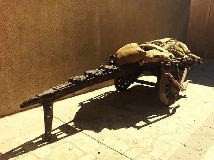 Cart Old Vehicle Wheele