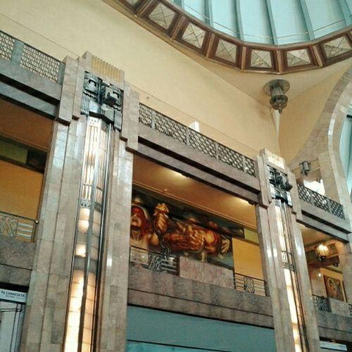 Interiores del hermoso Palacio de Bellasartes Mexico Df Arquitecture Arquitectura Historia Hystory
