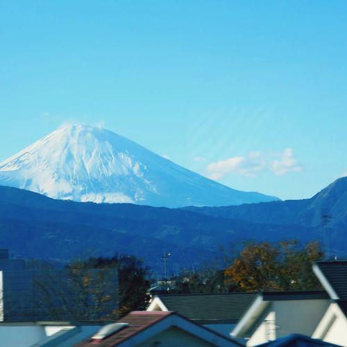 From the Shinkansen Mt.Fuji Shinkansen
