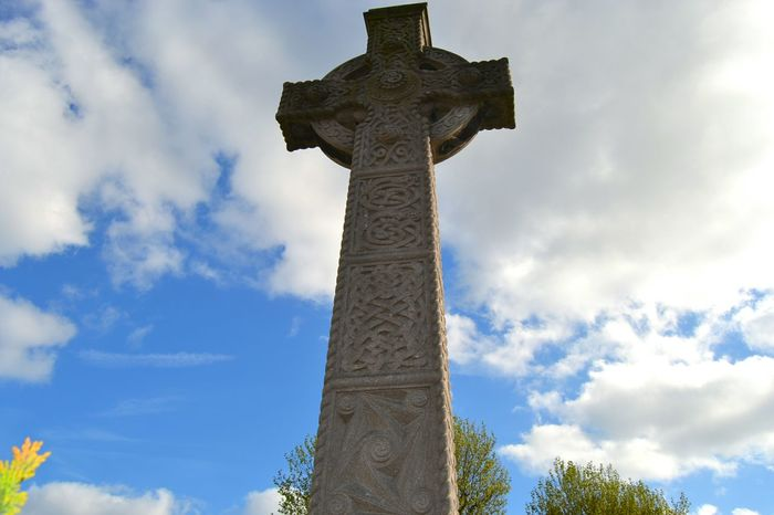 Celtic cross. Weekend Dublin Park Nofilter