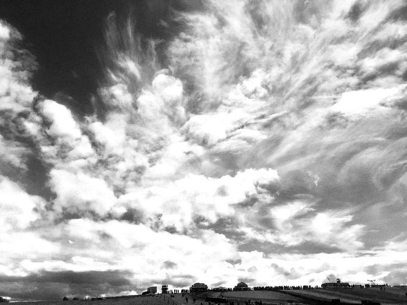 Kester Black & White Sky Grey White Cloudporn Iphonepic