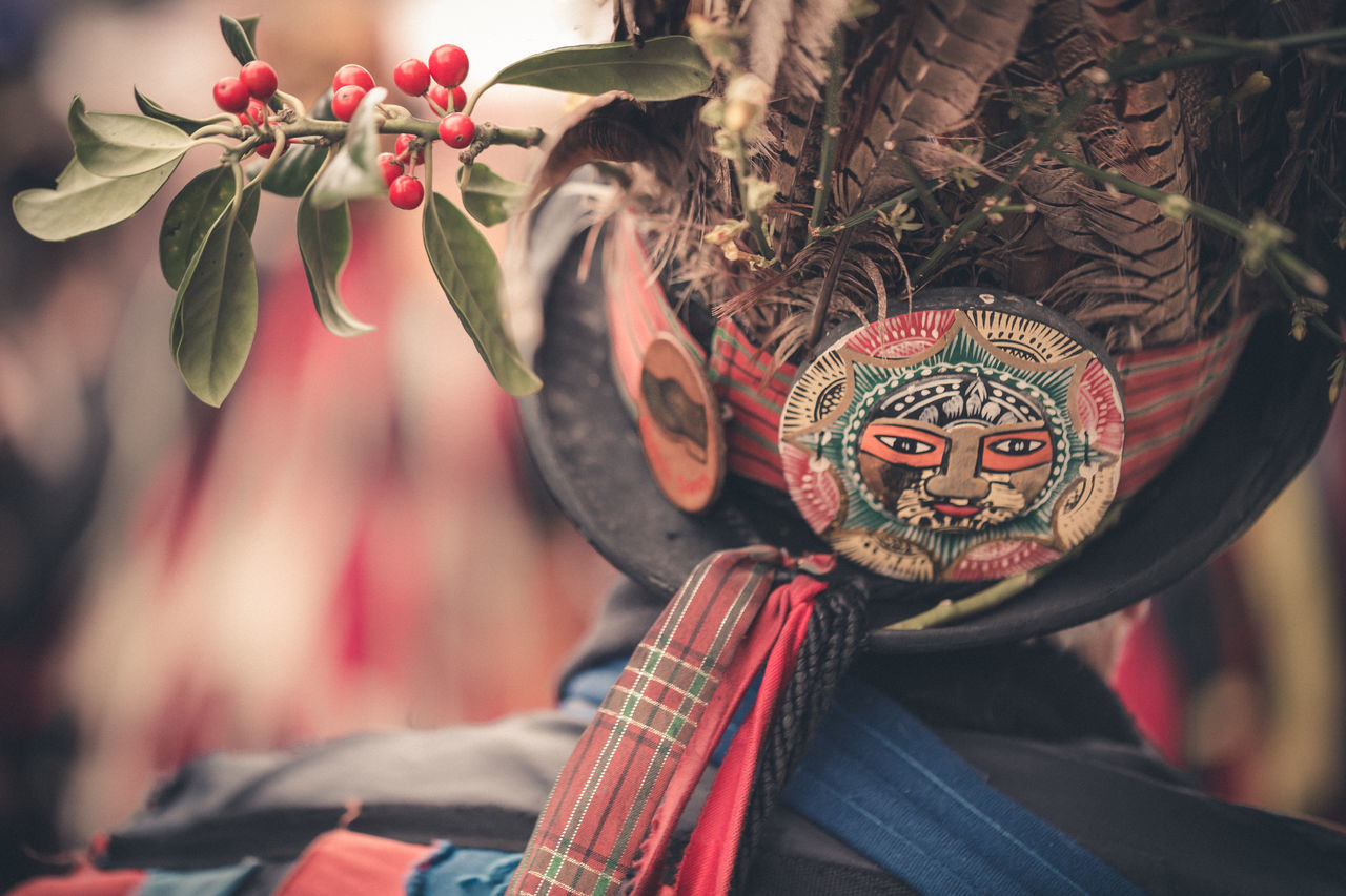 mask - disguise, focus on foreground, cultures, venetian mask, day, tradition, celebration, outdoors, close-up, real people