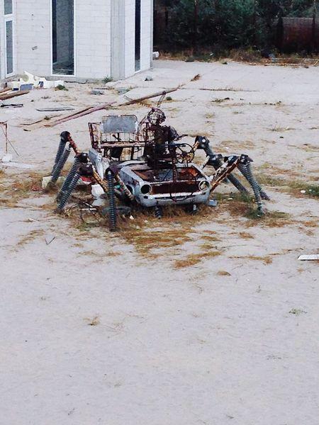 Kazantip Blacksea Crimea Transformers Funny Cars Vaz