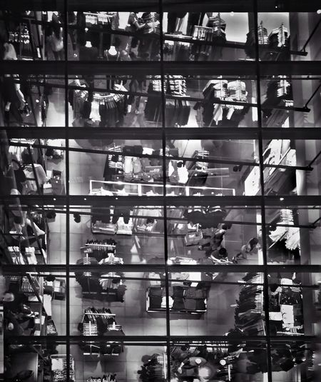 Full frame shot of people at airport