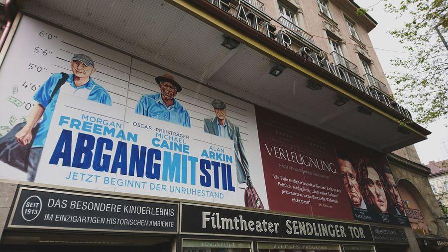 Hand-crafted movie posters at Filmtheater Sendlinger Tor. · München Munich Germany M 089 Sendlinger Tor Theater Movie Theater Filmtheater Filmtheater Sendlinger Tor Posters Movie Posters Advertising Craft Façade Tristesse