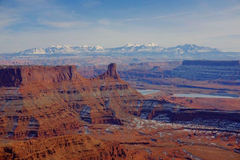 Dead Horse Point Utah Mountains
