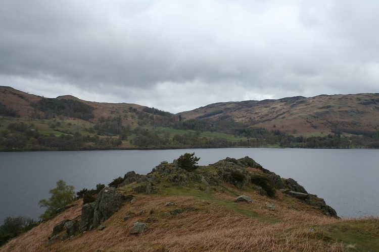Beauty In Nature Day Lake Lake District Landscape Mountain Nature No People Outdoors Stormy Tranquil Scene Tranquility Travel Destinations Ullswater View Walking