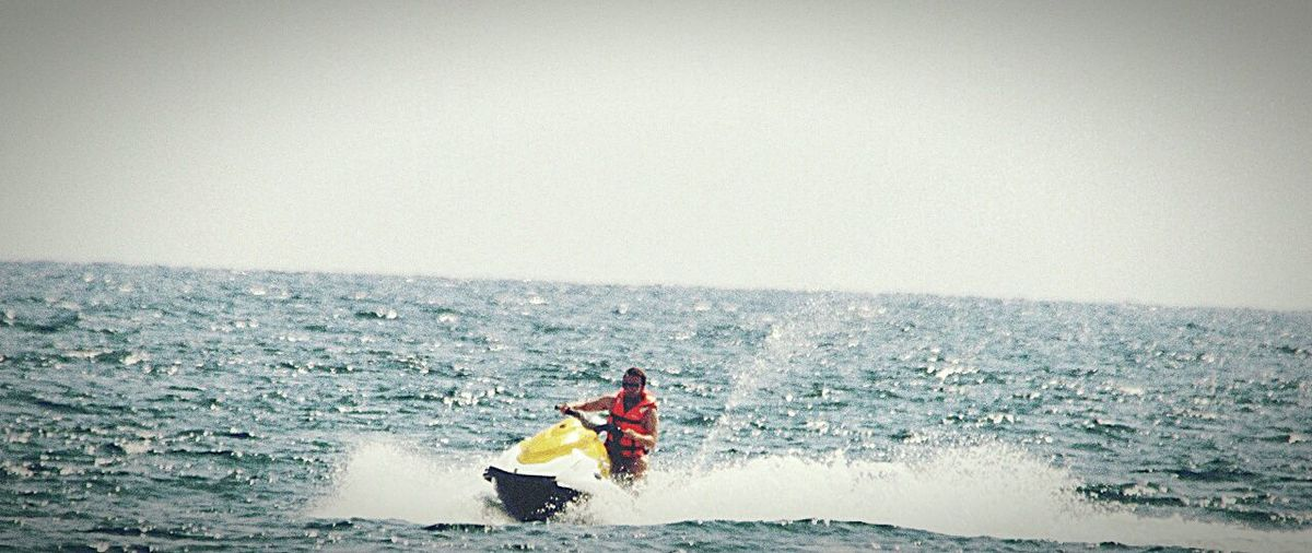 Jetski Vacations Lifestyles Sport Fun Tourist Sea Water Jetski First Eyeem Photo