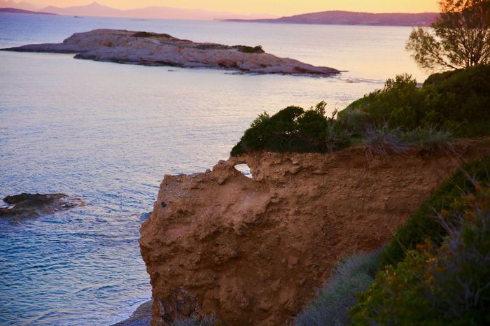 Beach Beauty In Nature Cliff Coastline Day Horizon Over Water Mountain Nature No People Outdoors Rock - Object Scenics Sea Sky Water Dragon Rock Face Rock Mohican
