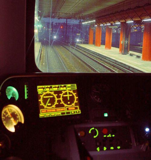OnBoard Treno Milano Cadorna Leaving Arrive Partenza Arrivi