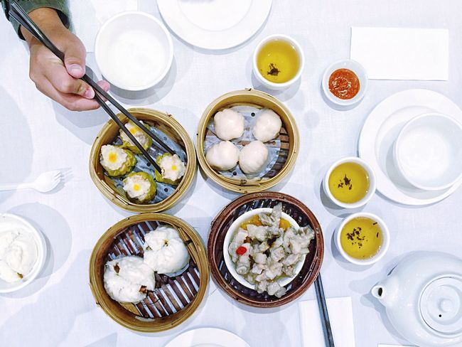 • Dim Sum is a family favourite breakfast 😋 • A Taste Of Life Time For Breakfast  Breakfast Dimsum Chinese Food Chinese Breakfast  Food Porn Awards Foodporn Onthetable The Foodie - 2015 EyeEm Awards