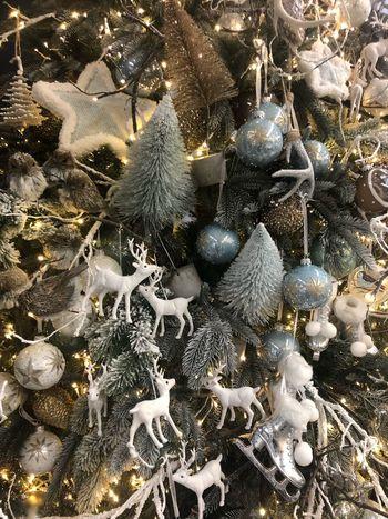 Christmas Celebration Christmas Decoration Holiday Full Frame Decoration christmas tree