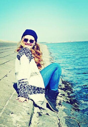 my cute swedish cousin :-) Summer Sweden Lake Holiday