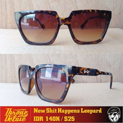 ShitHappens Leo. Throne39 Fall Catalogue Sunglasses eyeglasses . Online order to : +62 8990 125 182.