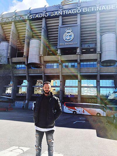 Real Madrid C.F. Santiago Bernabeu Halamadrid España Beautiful
