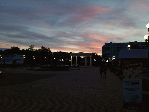 площадь фонари