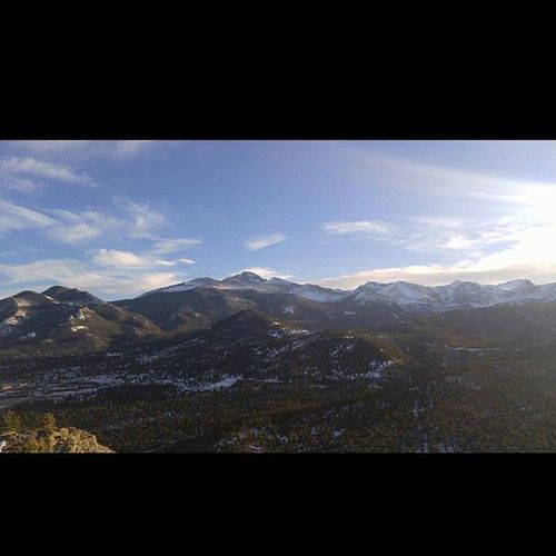 """Unless you've climbed a 14ner, you can't get a better view than this!"" Mountains Longspeak Life Earth Nofilter"
