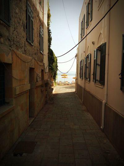 Street Vía Scorcio Ombrelloni Mare Sea Point Of View Windows Stradina Vicoli Vicolo Nascosto