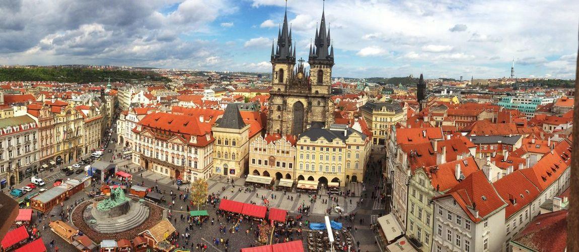 Czech Republic Old Town Square with Týn Church EyeEm In Prague