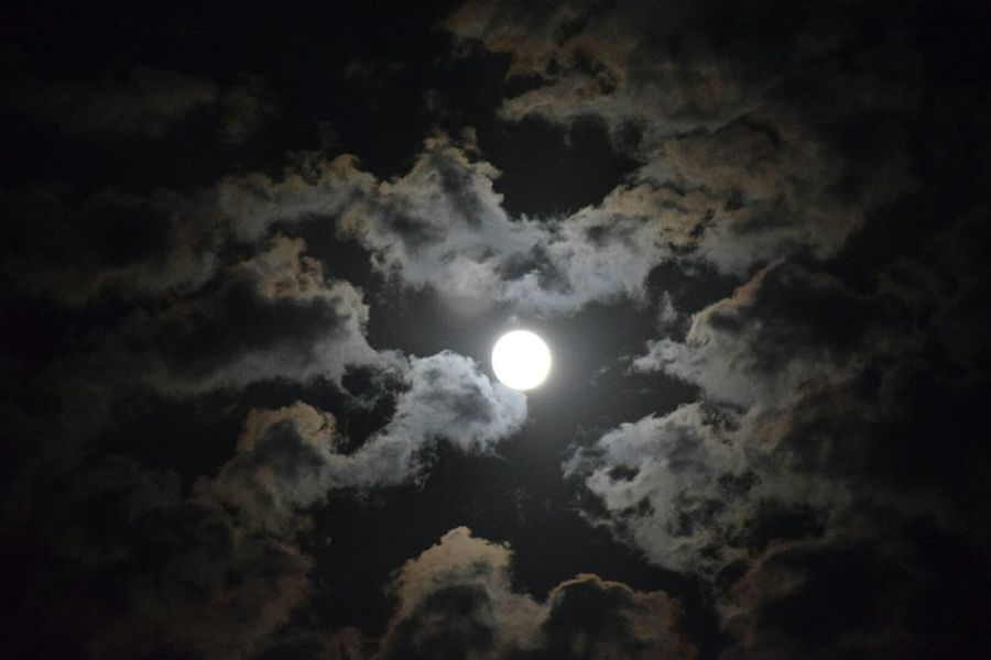 Full Moon Cloudstagram HDR Collection Feeling Cold Changing Weather Nikonphotography The End Of Autumn