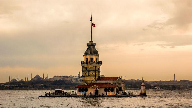 Istanbul Istanbul - Bosphorus Maiden Tower Maidenstower Maidentower The Bosphorus
