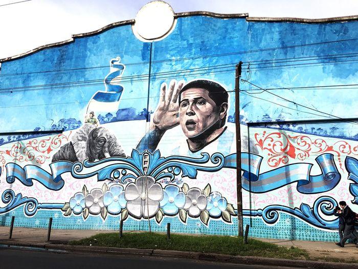 Outdoors Graffiti Street Art Murales Urbanos Don Torcuato Argentina Gigantografia