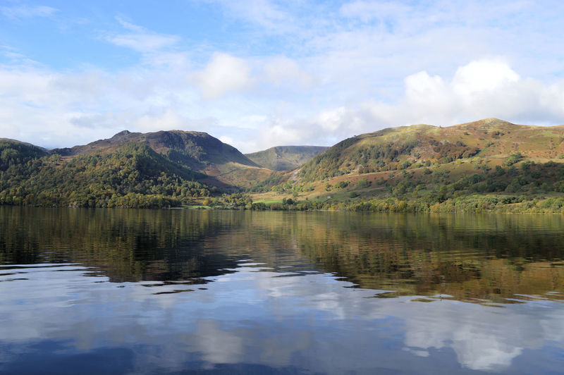 Beauty In Nature Cloud Cloud - Sky Cloudy Cumbria Day English Countryside Idyllic Lake Lakescape Landscape Mountain Mountain Range Nature No People Non-urban Scene Outdoors Reflections Remote Scenics Sky Tranquil Scene Tranquility Ullswater Water