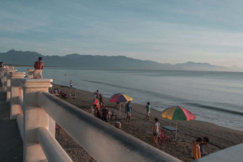 BalerAuroraPhilippines EyeEmNewHere Surf Travel Travel Photography Architecture Beach Beauty In Nature Clear Sky Day Large Group Of People Leisure Activity Lifestyles Men Mountain Nature Outdoors People Real People Scenics Sea Sky Vacations Water EyeEmNewHere
