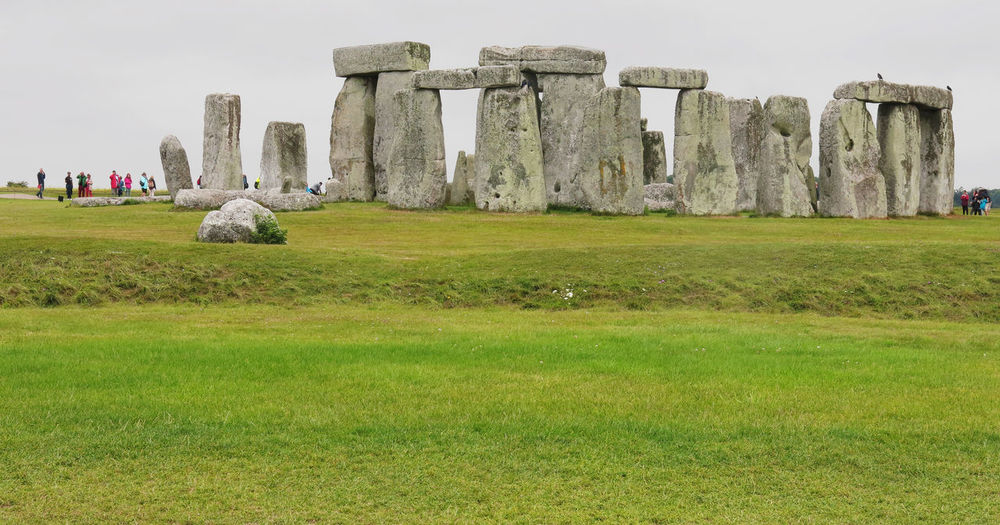 Ancient Ancient Civilization Architecture Day Famous Place Grass Grassy Green Color History Monument Old Ruin Rock - Object Ruined Stone - Object Stone Material Stonehenge StonehengeBluestone Stones & Water Stonestructures The Past Tourism Tranquility