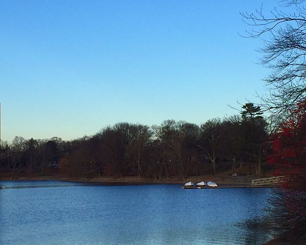 Redwhiteblue Nature Blue Outdoors Scenics Clear Sky Tranquility Water Landscape