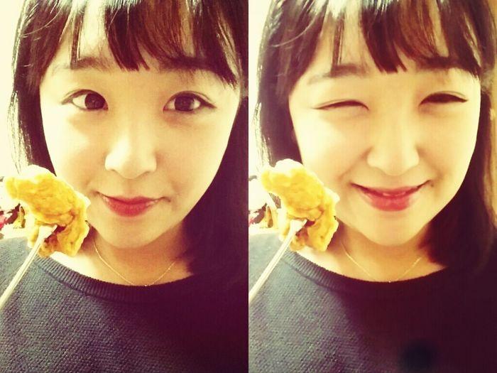 치킨 Selfie 셀카 맛있는치킨