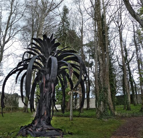 This Is Not a Tree Telling Stories Differently Icarus Palm by Douglas White @ Cass Sculpture Foundation Hugging A Tree It Never Is What It Is Tyre Sculpture in a WoodLand Art in Nature by EyeEm Nature Lover OpenEdit Your Design Story