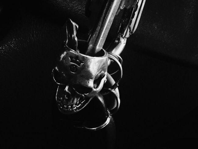 the keymaster key keeper Guardians of the key black and white skulls skull