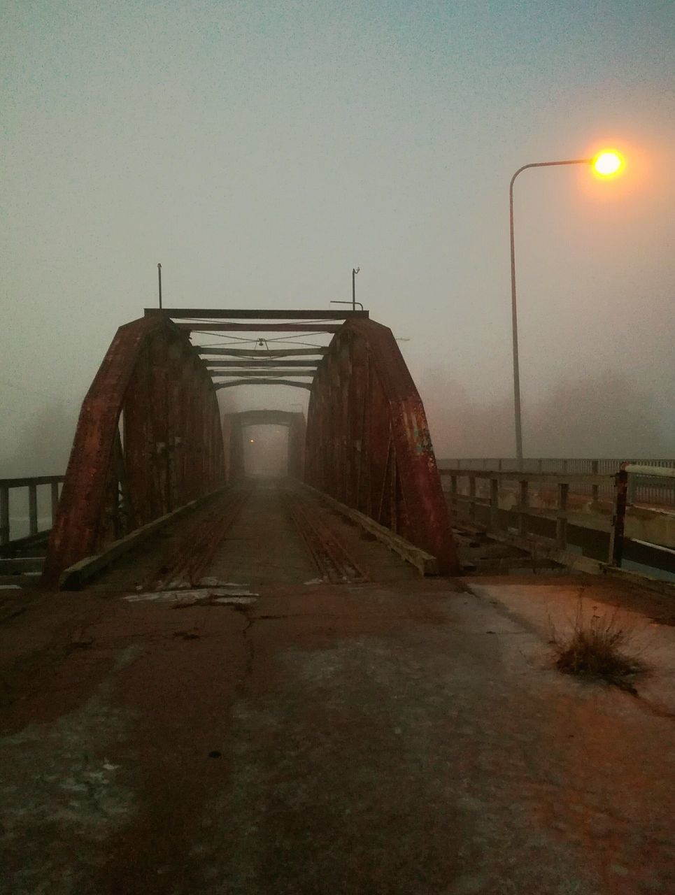fog, the way forward, built structure, no people, outdoors, road, winter, sky, water, architecture, sea, nature, day