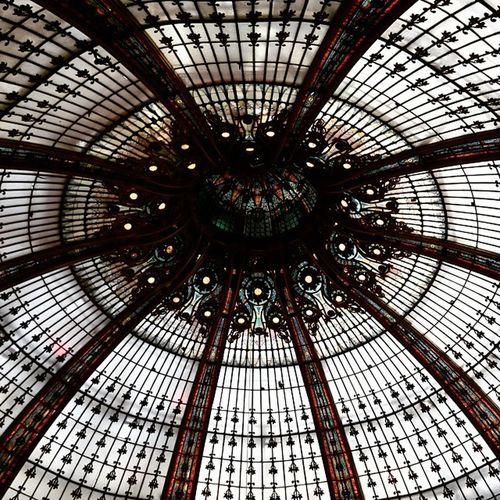 Galarie lafayette Galarielafayette Hussman Paris France