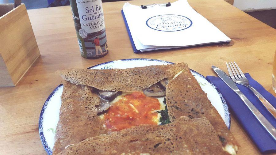 Galettes Crêpes Healthy Eating Glutenfree Food No People Französische Küche Bretagne Indoors  Düsseldorf Buchweizen Buchweizenmehl