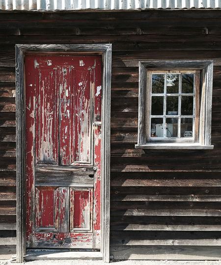 Red Door Wooden