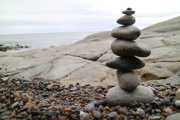 Stones Rock Beach Pebble Solid Balance Land Stone - Object Stone Tranquil Scene Stack Zen-like
