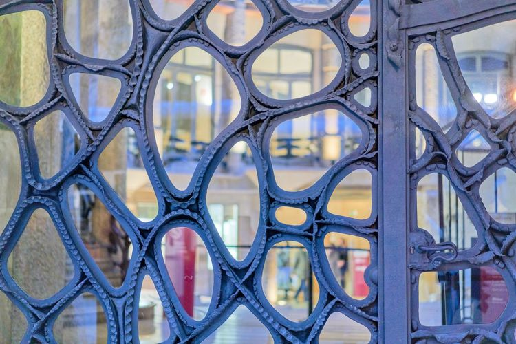 Gaudi Iron Door The Architect - 2017 EyeEm Awards Pattern Close-up No People Detail La Pedrera Casa Mila Barcelona Colour Your Horizn
