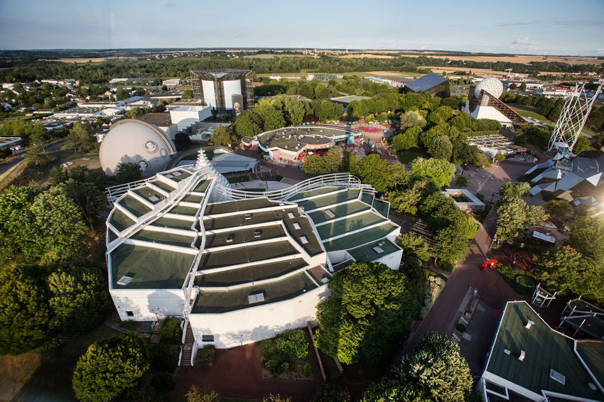 Architecture Futuroscope Theme Park Futuroscope Theme Park | Poitiers - France Futuroscope2017 Leisure Park Building Exterior High Angle View Scenics