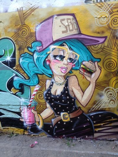 Super Bad Boys Stereoheat Graffiti Street Art