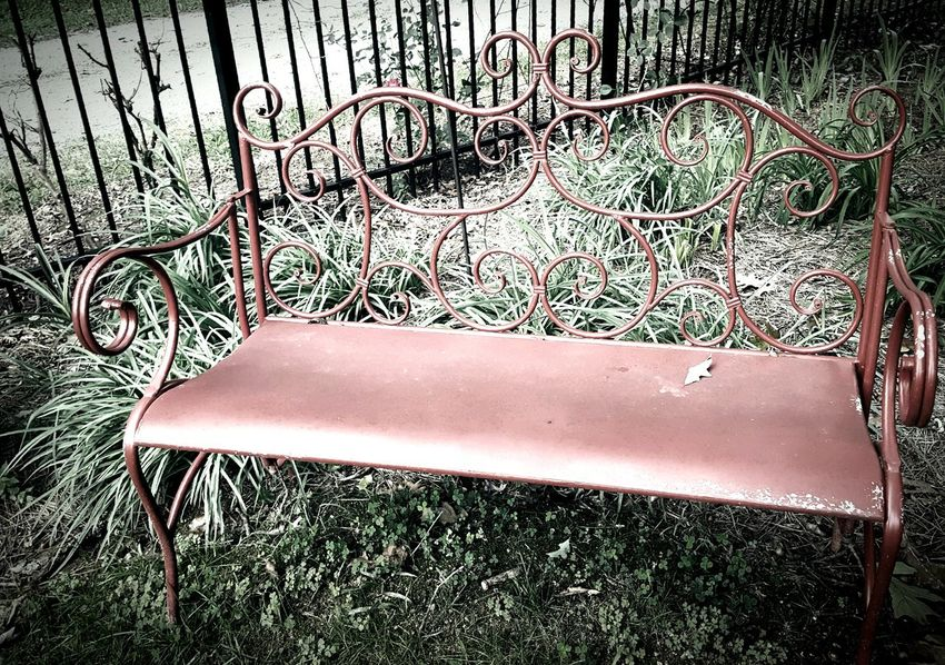 Garden seat...