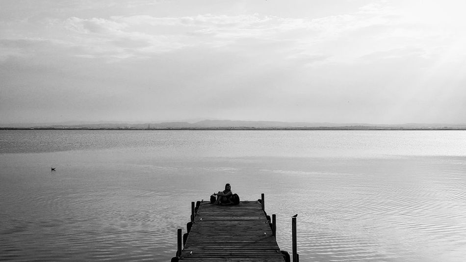La Albufera de Valencia / Valencia's lake Summer 2016 Hello World Awesome Enjoying The Sun Swimming Lovely Weather Beautiful Day Biking Relaxing Reading Peace And Quiet Quality TimeWorld High Definition Water Valencia, Spain SPAIN Taking Photos