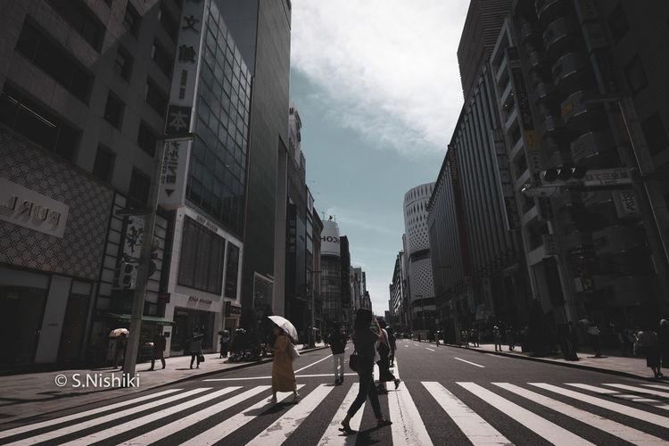 銀座スナップ City City Life City Street Day Road Sign Street Walking First Eyeem Photo